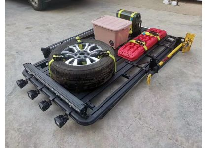 Fitting the hi lift jack/shovel/recovery track/ jerry can to your platform