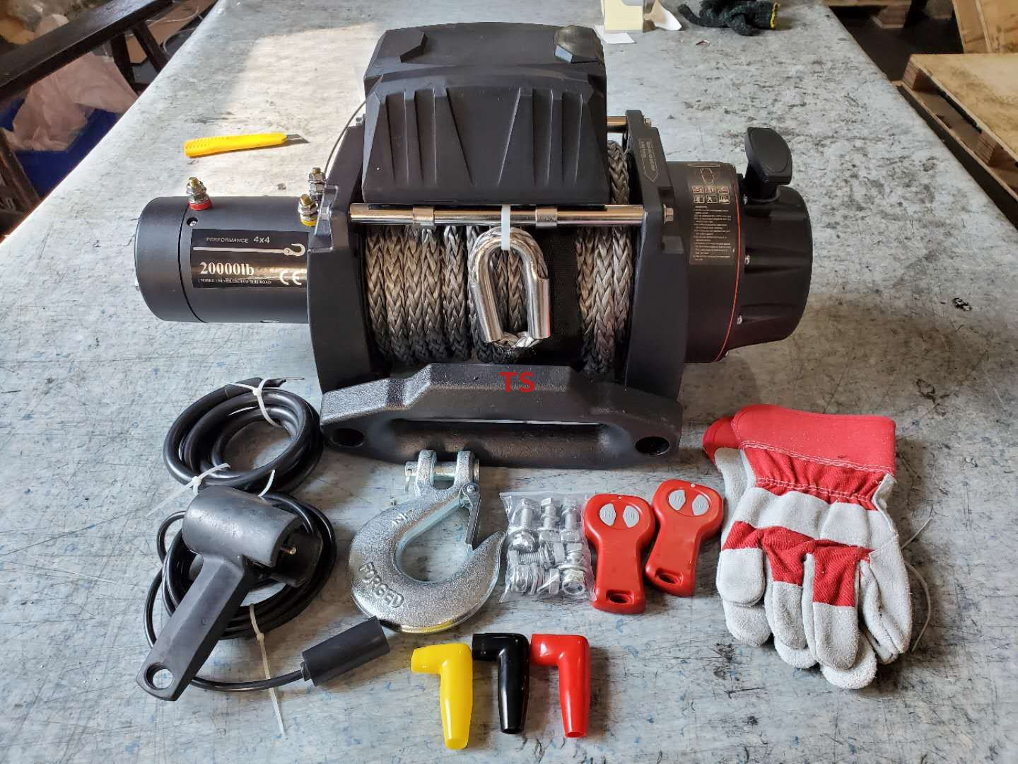 20000lbs Winch 10ton Electric Winch