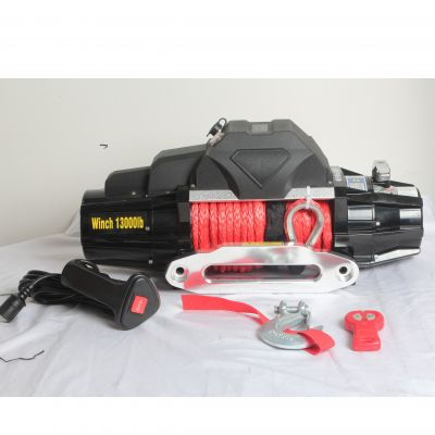 Recovery Winch 13000lbs with synthetic rope