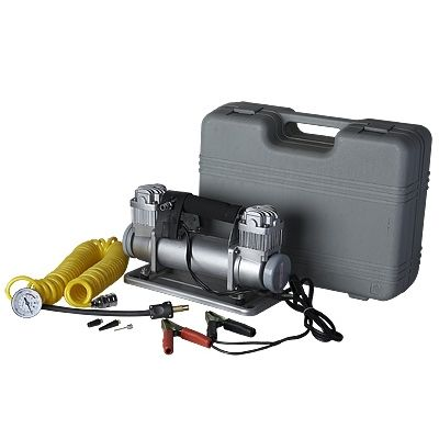 12V Car Air Compressor double cylinder
